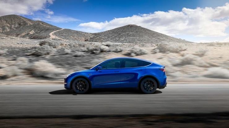 Tesla презентовала кроссовер Model Y (4 фото)