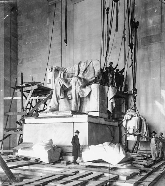 Как строились памятники архитектуры: архивные фотографии
