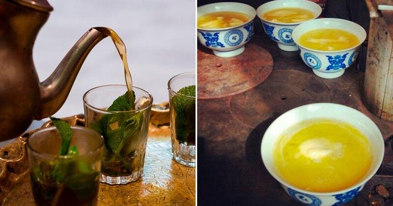 Как пьют чай различные народы мира
