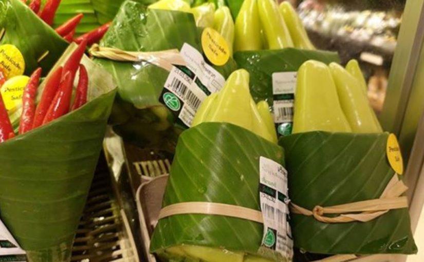 Отличная идея упаковки продуктов из одного тайского супермаркета