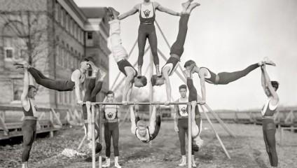 Спортивная Америка 100 лет назад