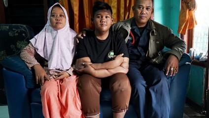 Самый толстый ребенок в мире похудел