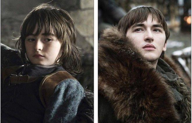 """Время не жалеет никого — какие изменения произошли с персонажами """"Игры престолов"""" с 1-го сезона"""