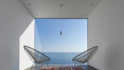 Роскошный коттедж в стиле hi-tech, геометрия которого вдохновлена самой природой