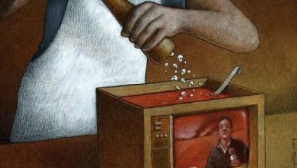 Карикатуры Павла Кучински на тему актуальных проблем современного общества