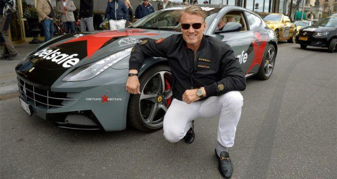 Дольф Лундгрен - Ferrari FF