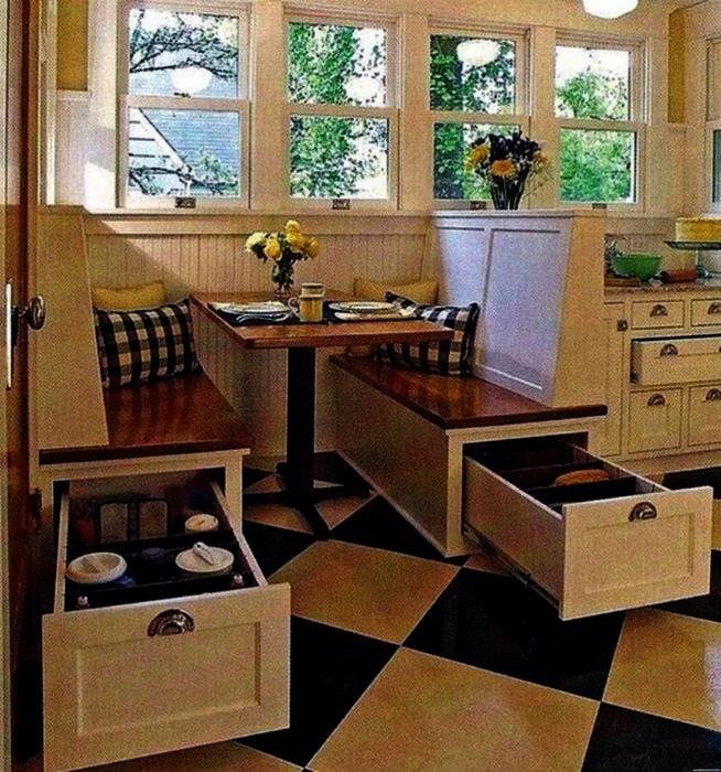 Функциональные предметы мебели, которые отлично встроятся даже в малюсенькую кухню