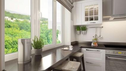 Помимо цветов: как использовать подоконник для увеличения места в квартире