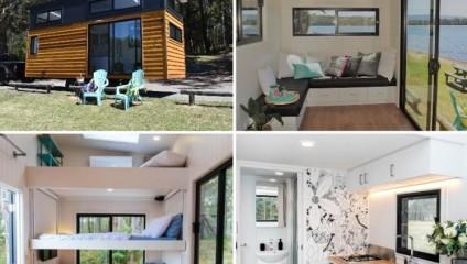 Австралийская дизайнер-строитель придумала пять моделей малюсеньких домиков, которые придутся по душе любому