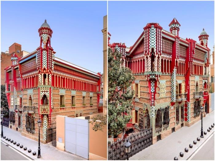 Экспрессия палитры Casa Vicens — первого гениального творения Антонио Гауди