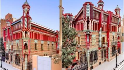 Экспрессия палитры Casa Vicens - первого гениального творения Антонио Гауди