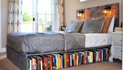 Премудрости хранения книг в небольшой квартире – советы дизайнеров