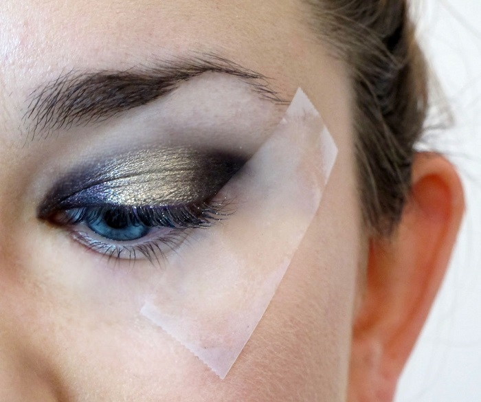 «Дымчатый» макияж