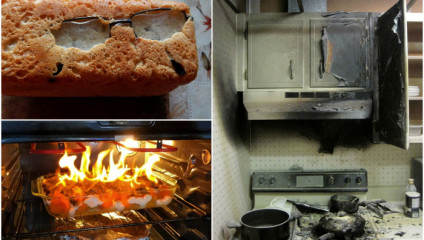 Люди, которым на кухне лучше не появляться