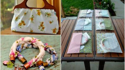 Задумки для тех, кто не в курсе, во что можно превратить старое постельное белье