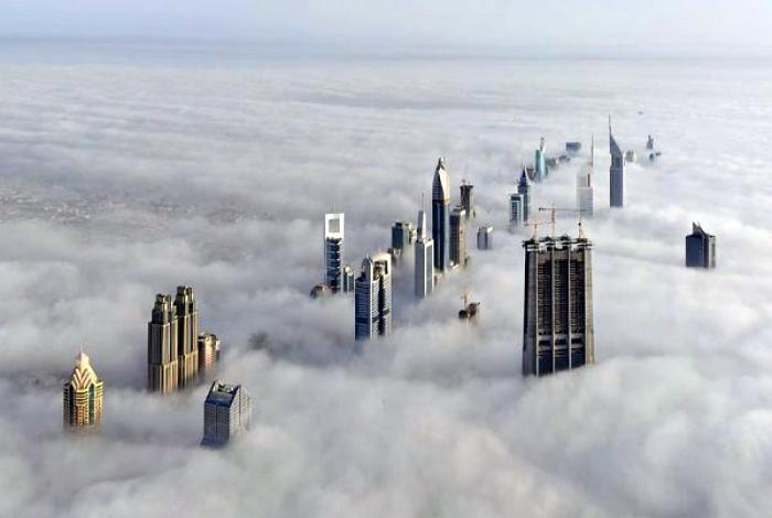 Если Китай - это Поднебесная, то Дубай - никак «Наднебесная»