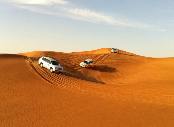 Гонки в пустыне