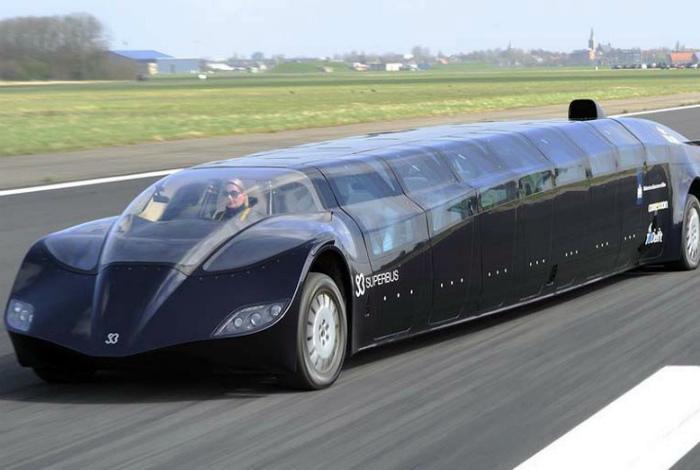 Необычайно роскошный лимузин-автобус