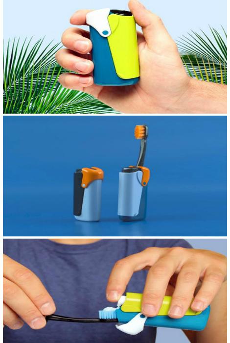 Походная зубная щетка