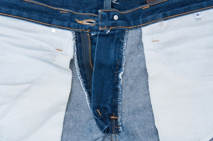 Неправильная стирка джинсов