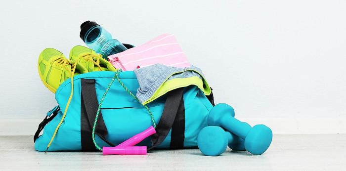 Оставление в спортивной сумке одежды после тренировки