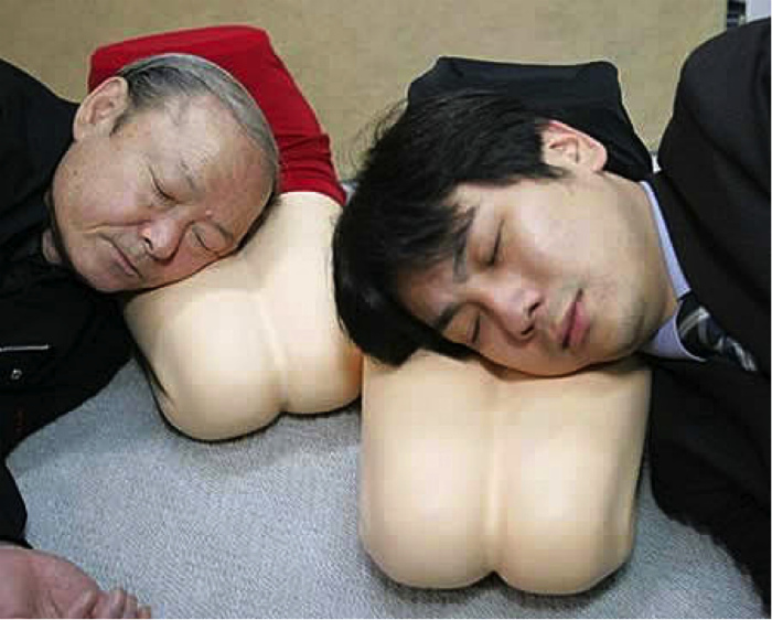 Подушки для одиноких. | Фото: blog do carlito lima.