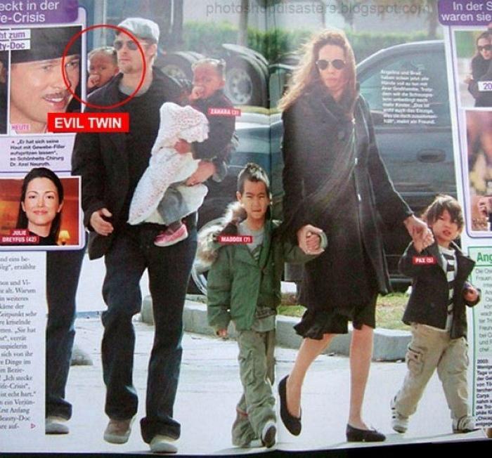 Наверное, редактору показалось, что детей на фото слишком мало, поэтому было принято решение продублировать одного...
