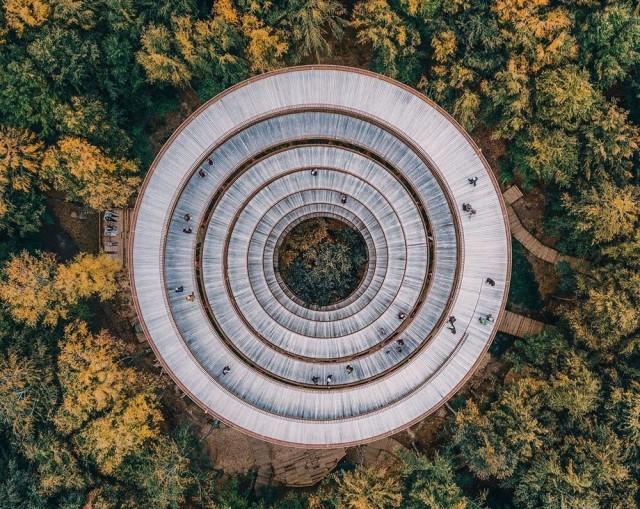 Загадочный и чудесный мир сверху — фотографии разных стран с дрона