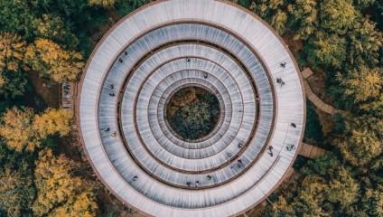 Загадочный и чудесный мир сверху - фотографии разных стран с дрона