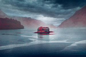 Необыкновенная таинственность суровой Норвегии в инфракрасных снимках