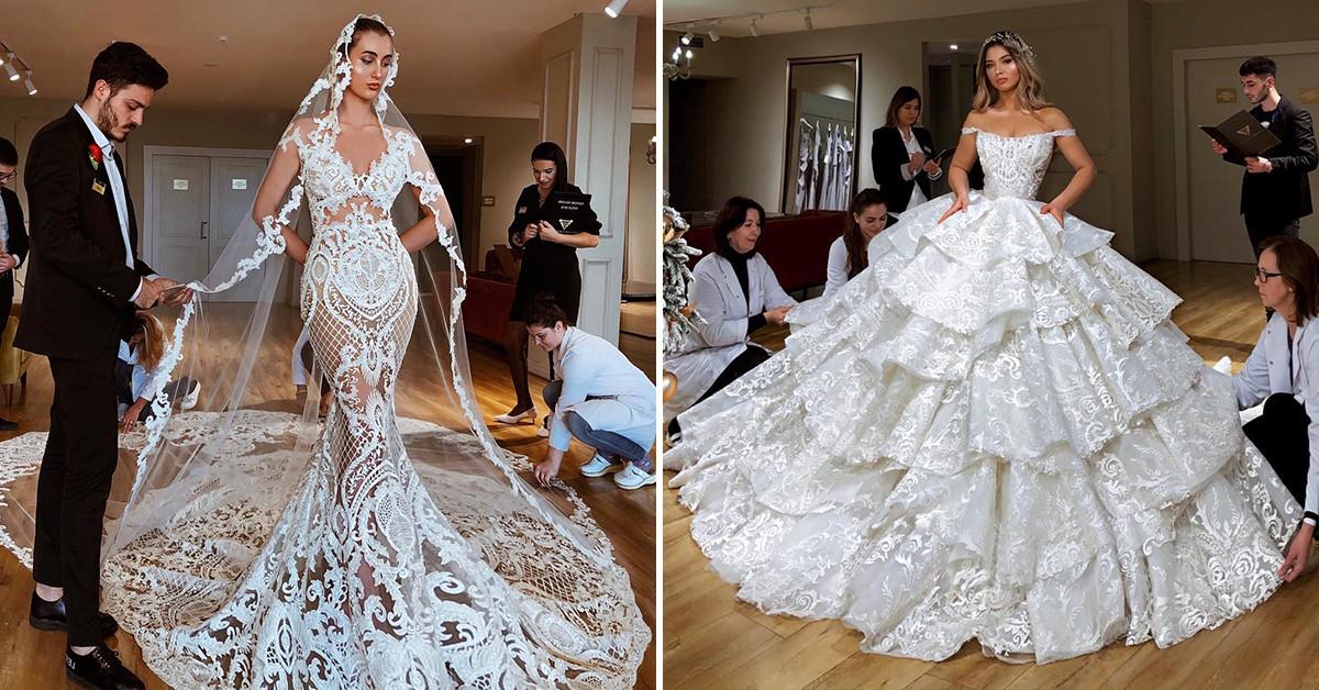 «Королевские» свадебные платья