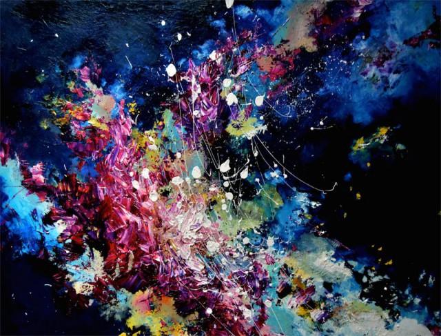 Музыка в живописи — рисунки девушки с синестезией