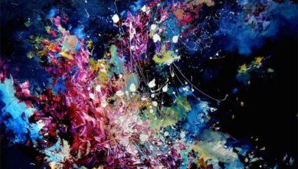 Музыка в живописи - рисунки девушки с синестезией