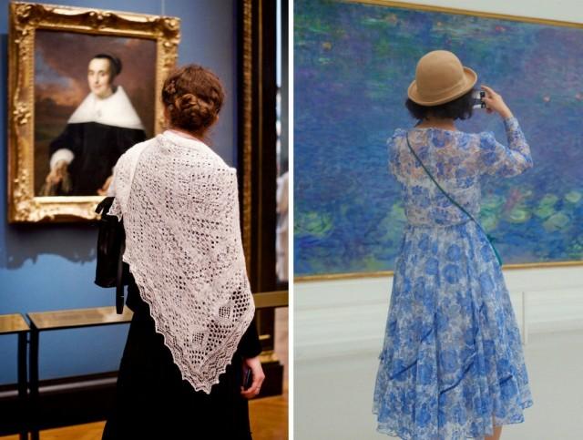 Люди, соответствующие произведениям искусства