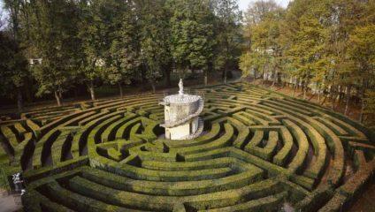 Самые необычные в мире лабиринты из живой изгороди