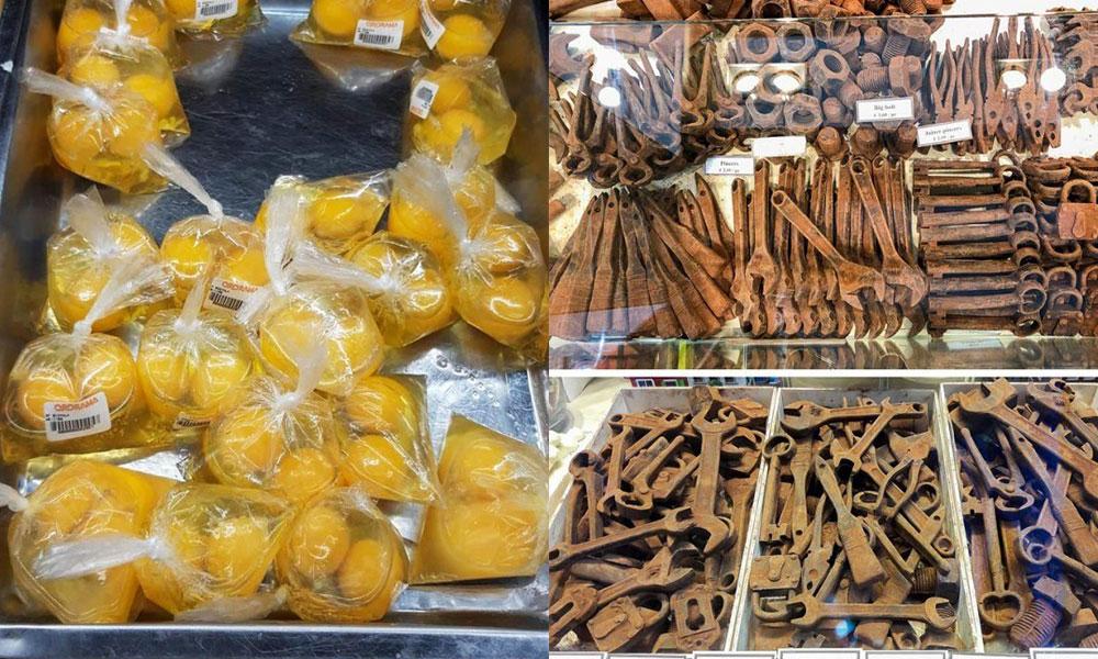Необычные продукты, которые можно встретить в разных уголках планеты