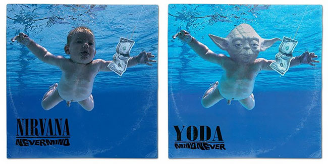 Герои Звездных войн на обложках музыкальных альбомов