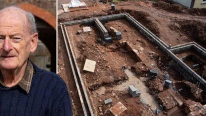Пенсионер нашел под домом потерянный дворец