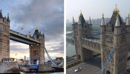 знаменитые строения и их не менее впечатляющие собратья, которых мало кто видел