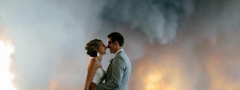 Клубы дыма сделавшие фотографа известным